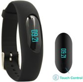 Fitness Tracker Non-bluetooth  Watch Pedometer  Polsband ''Zwart''