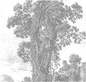 Engraved Landscape, fotobehang van KEK Amsterdam, WP-318, 6 baans behang