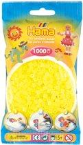 Strijkkralen 1000 Stuks Geel Neon