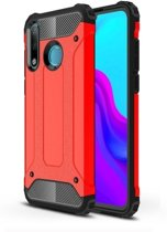 Teleplus Huawei P30 Lite Tank Cover Case Red hoesje