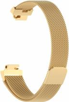 YONO Milanees bandje - Fitbit Inspire (HR) - Goud - Small