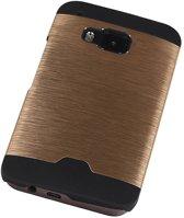 HTC One M9 Goud | Lichte Aluminium Hardcase  | WN™