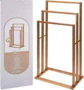 Handdoekrek Bamboe TrioBathroom Solutions