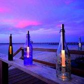 Bottlelight Fleslamp set van 3 warm white