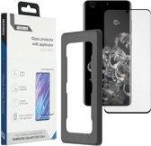 Accezz Glass Screenprotector + Applicator voor de Samsung Galaxy S20 Ultra