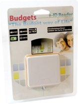 Standaard Budget eID Kaartlezer USB 2.0 - Geschikt voor alle Belgische eID kaarten