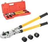 Krimptang hydraulisch V-vormig 16-20-26-32 mm
