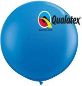 Megaballon Blauw 90 cm 2 stuks