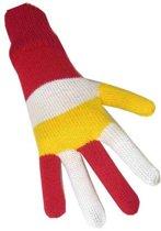 Handschoenen Oeteldonk - One Size - Rood Wit Geel