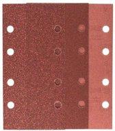 Bosch 10-delige schuurbladset voor vlakschuurmachines 93 x 185 mm - korrel 60; 120; 180