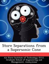 Store Separations from a Supersonic Cone