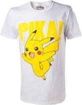 Pokemon - T-shirt Pikachu Printed Crewneck - XL