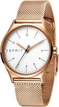 Esprit ES1L034M0085 horloge dames - ros� - edelstaal PVD ros�