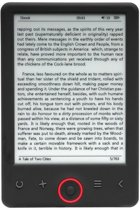 Denver - 6 inch E-ink Ebook reader EBO-620AS 4GB