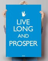 Reinders Poster Star Trek - live long and prosper - Poster - 61 × 91,5 cm - no. 22990