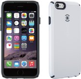 Speck CandyShell - Hoesje voor iPhone 6 / 6s - White / Charcoal Grey Core