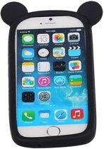 Zwart Bumper Beer Medium Frame Case Hoesje voor HTC 10 Lifestyle