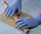 plastic handschoen wegwerp, maat XL, onderzoekshandschoen, chirurghandschoen plastichandschoen, nitrile handschoen,
