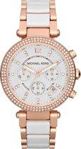 Michael Kors Parker MK5774 - Horloge - Staal - Rosékleurig - 39 mm