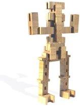 luco toys houten constructie set ( blank)
