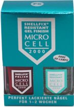 Micro Cell 2000 Shellfix Resistant Gel Finish 2 x 11ml F6 Red