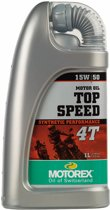 Motorex Top Speed 4T 15W/50-1Liter