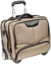 Dermata Business Laptop Trolley Nylon 3456NY Champagne