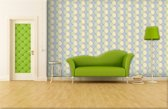 Yellow | Green Photomural, wallcovering