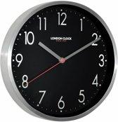London clock Keukenklok - Mirage - Zwart-Zilver