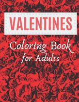 Valentines Day Coloring Book for Adult