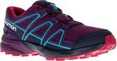 Salomon Speedcross Sportschoenen - Maat 37 - Meisjes - paars/ blauw/ zwart