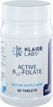 Klaire Labs Active B12- Folaat 60 tabletten