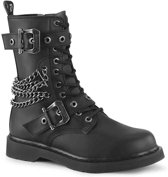 Demonia Laarzen -38 Shoes- BOLT-250 Zwart