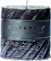 Riverdale Swirl - Geurkaars - Donkergrijs - 7.5x7.5 cm