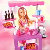 Steffi Love  Doll with Coffeeshop -Pop