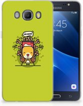 Samsung Galaxy J5 2016 TPU Hoesje Design Doggy Biscuit