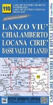 IGC Italien 1 : 25 000 Wanderkarte 110 Chialamberto