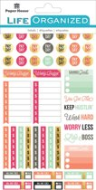 Paper House -  Life Organized Planner Stickers - Budget - 254stuks