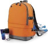 Senvi Sports Pro Rugzak kleur Oranje - Grijs (waterafstotend)