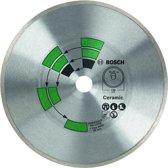 Bosch - Diamantdoorslijpschijf tegels 125 x 22 x 1,7 x 5,0 mm