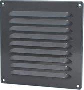 SENCYS ventilatierooster met hor, maat 19.5 x 19.5 cm| antraciet grijs