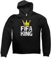 hippe sweater   hoodie   Fifa King   maat XXL