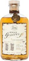 Zuidam Rogge Genever, 1 Y American Oak - Jonge Jenever - 1 L