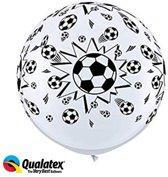 Ballonnen voetbal (2 stuks)