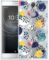 Sony Xperia XA2 Hoesje Abstract Flowers