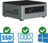 Intel NUC Mini PC   Celeron J4005 - Quad Core   4 GB DDR4   120 GB SSD   2x HDMI   Windows 10 Pro