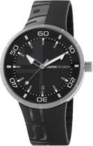 Momodesign jet black MD2298SS-11 Mannen Quartz horloge