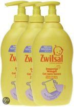 Zwitsal - Zeepvrije Wasgel - 3 x 400 ml - Voordeelverpakking