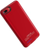 BestCases.nl Rood smart batterij hoesje Apple iPhone 6 / 6s en Apple iPhone 7 en iPhone 8