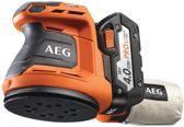 AEG BEX18 LI-402C Excentrische schuurmachine– Incl. accu's, koffer en lader